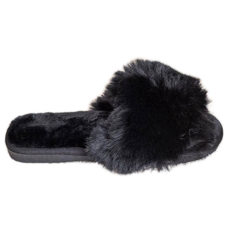 Bona Zapatillas negras con estilo negro
