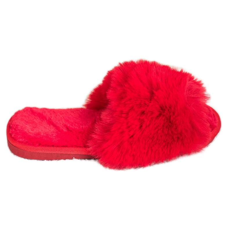 Bona Zapatillas rojas con estilo rojo