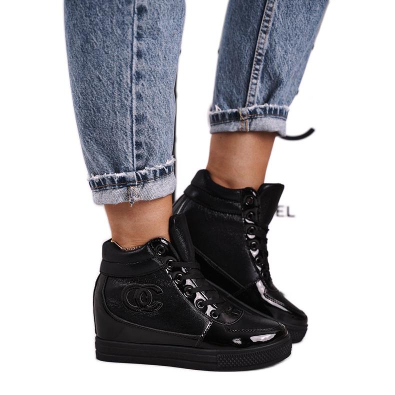Haver Zapatillas de Mujer Botines Negro Carol