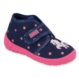 Calzado infantil befado 538P015 marina rosa