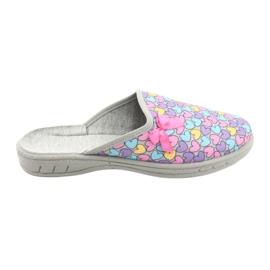 Zapato infantil color befado 707Y410 plata multicolor