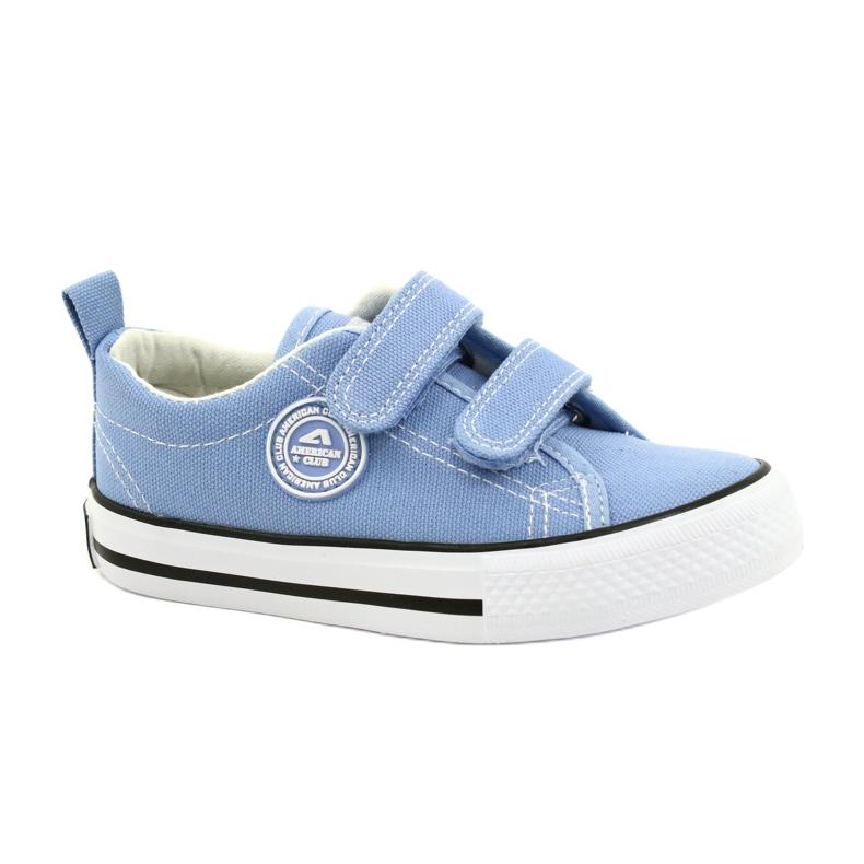 Zapatillas azul americano American Club LH64 / 21
