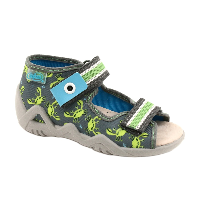 Sandalias befado calzado infantil 350P023 verde