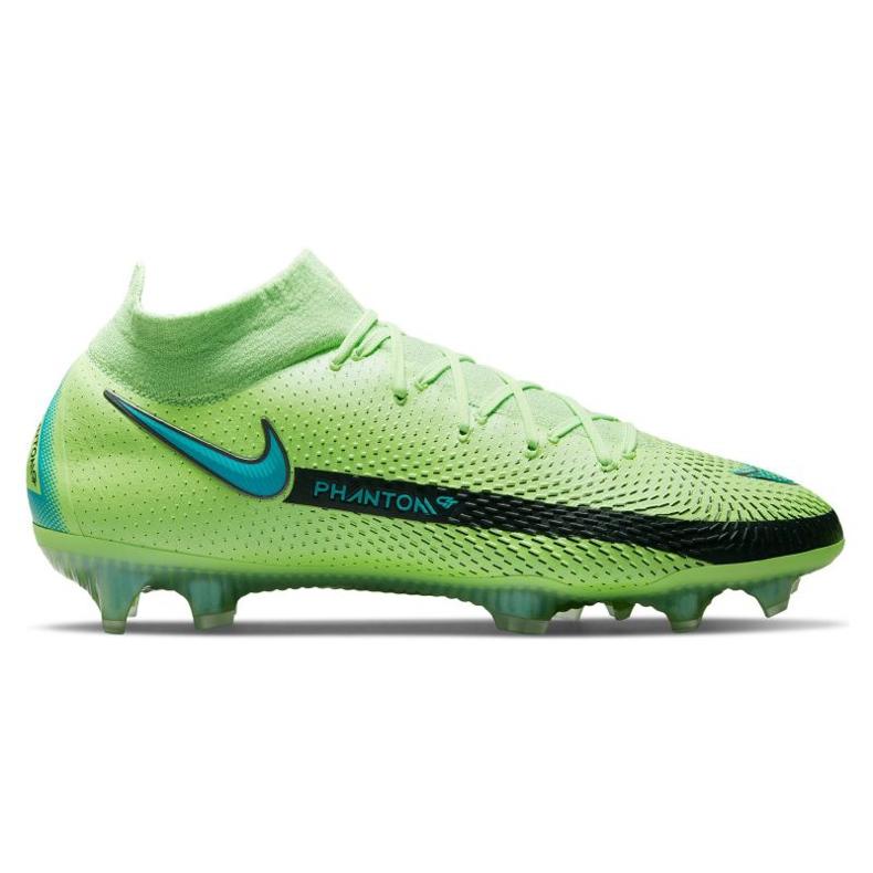 Calzado de fútbol Nike Phantom Gt Elite Dynamic Fit Fg M CW6589 303 multicolor verde