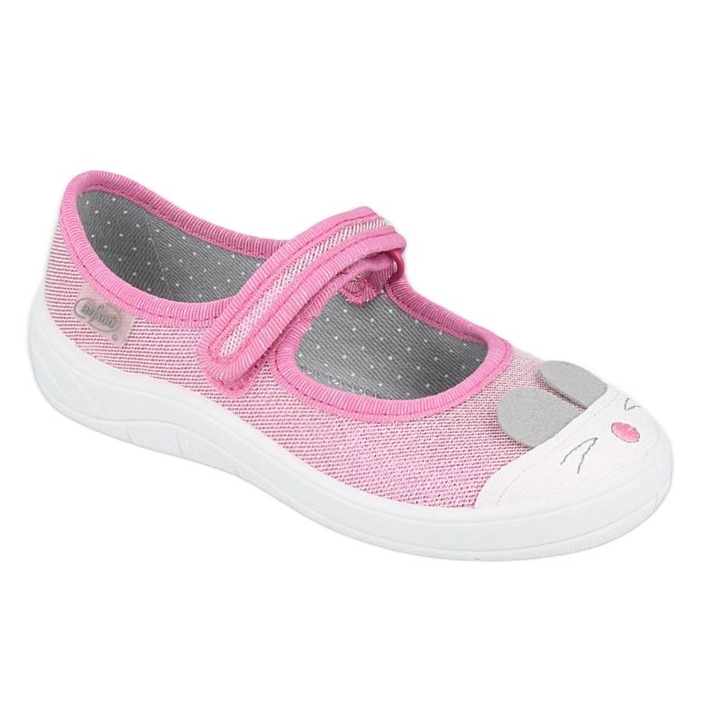Calzado infantil befado 208X045 rosado