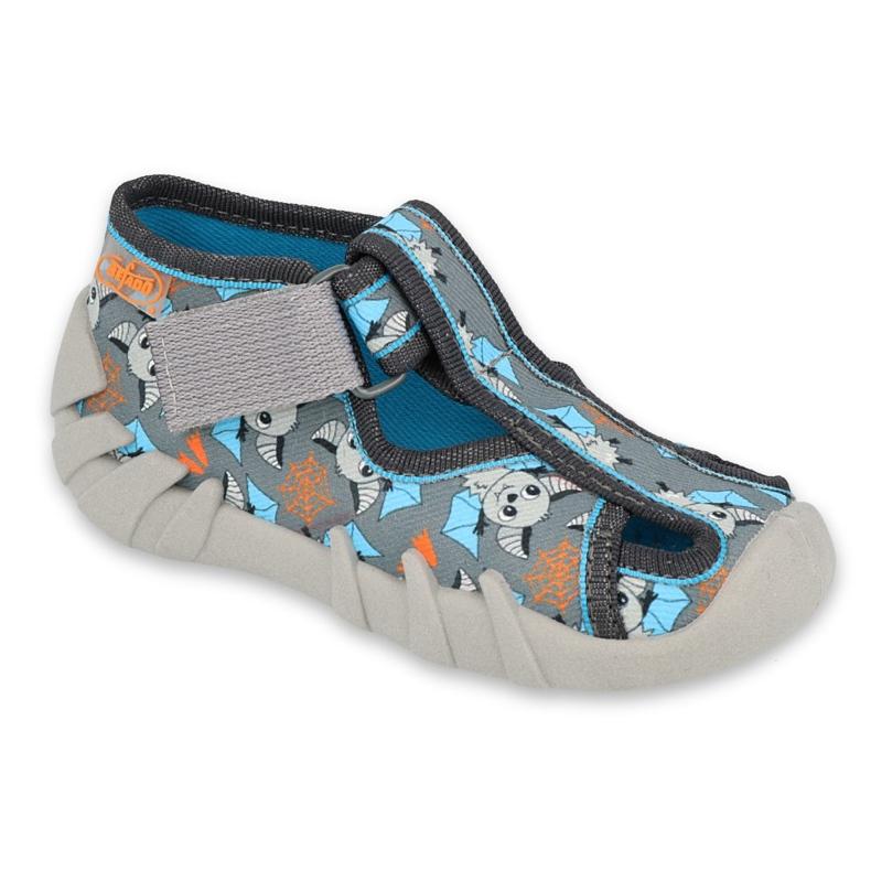 Calzado infantil befado 190P104 azul gris