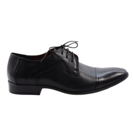 Zapatos clásicos negros Nikopol 210