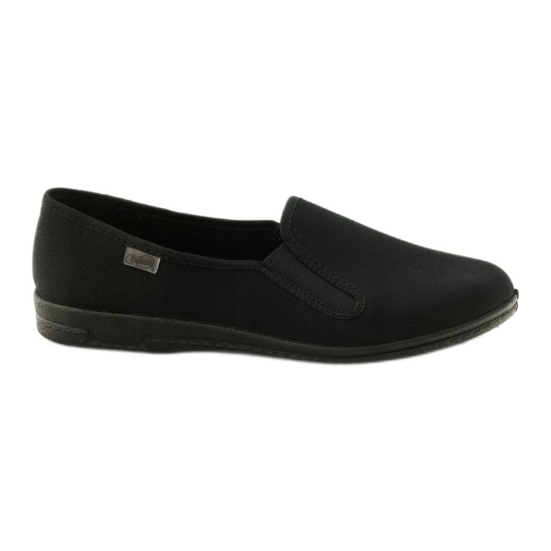 Zapatillas slip-on negras Befado 001M060 negro