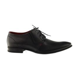 Zapatillas de hombre clásicas negras Pilpol 1623 negro