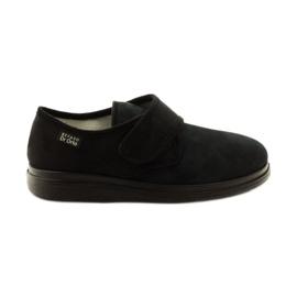 Negro Zapatillas de mujer befado mocasines de salud Dr.Orto 036D007