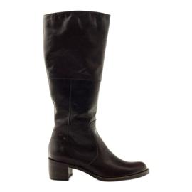Botas de mujer marrón Anabelle 503