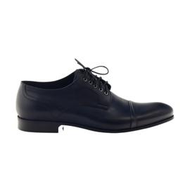 Zapatos Oxford Pilpol 1607 azul marino.