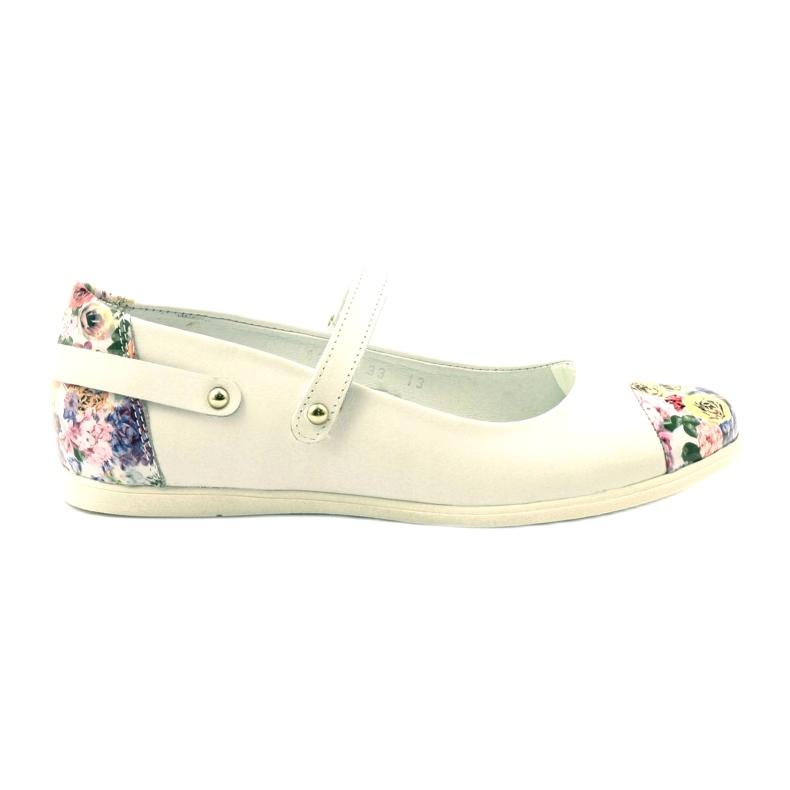 Bailarinas chicas flores bartek blanco