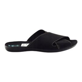 Negro Zapatillas de hombre Adanex 20310 negras
