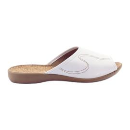 Zapatos de mujer Befado zapatillas flip 254d058 blanco