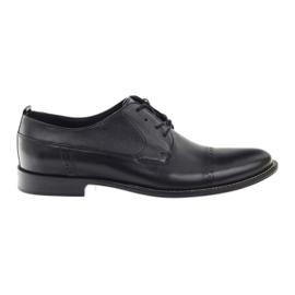Badura classic zapatos negros para hombres 7599