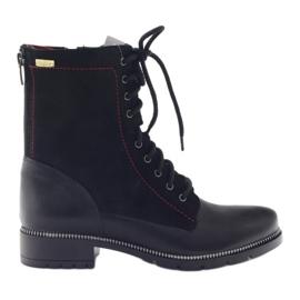 Botas botas de mujer Kazkobut 2809 negro
