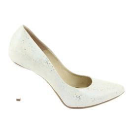Espinto 456/96 zapatos de mujer blanco.
