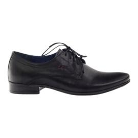 Zapatos de hombre Nikopol 1597 negro.