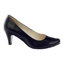 Zapatillas de mujer Gregors 465 negras. negro