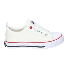 American Club Zapatillas American LH25 anudadas blancas blanco