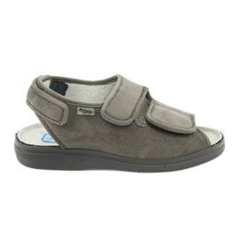 Sandalias para diabéticos befado 676d006 gris