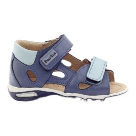 Sandalias niño, nabos azul Bartuś