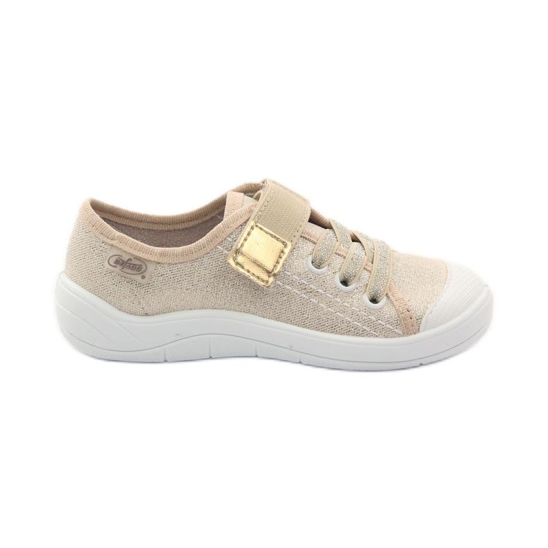 Zapatillas zapatillas para niña befado 251x071 doradas