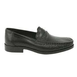 Pilpol Zapatillas mocasines negro Pilbut 01