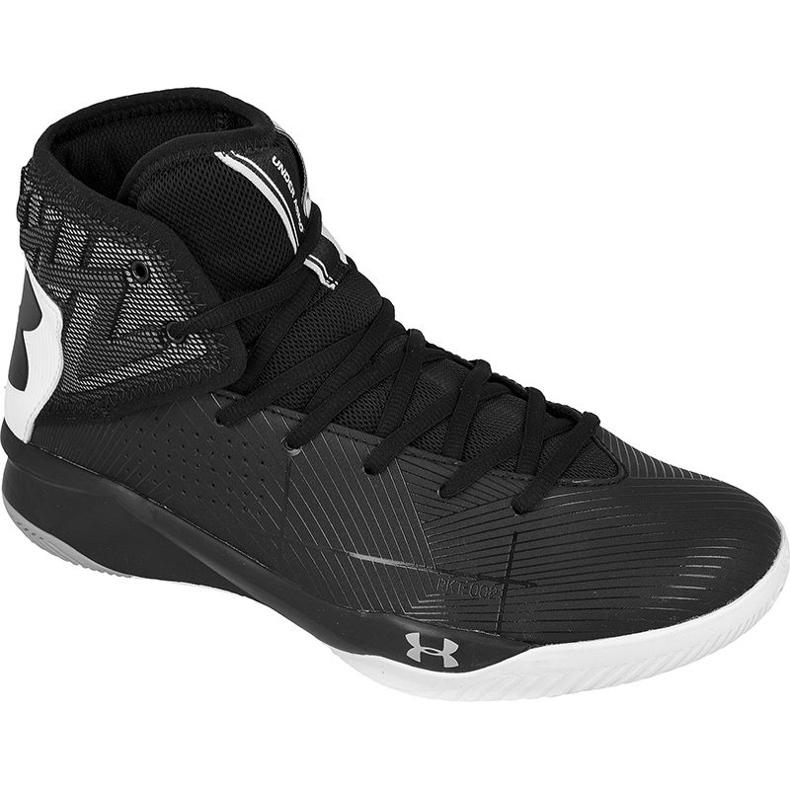 Zapatillas de baloncesto Under Armour Rocket 2 M 1286385-001 negro
