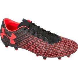 Botas de fútbol Under Armour Force 3.0 Fg rojo