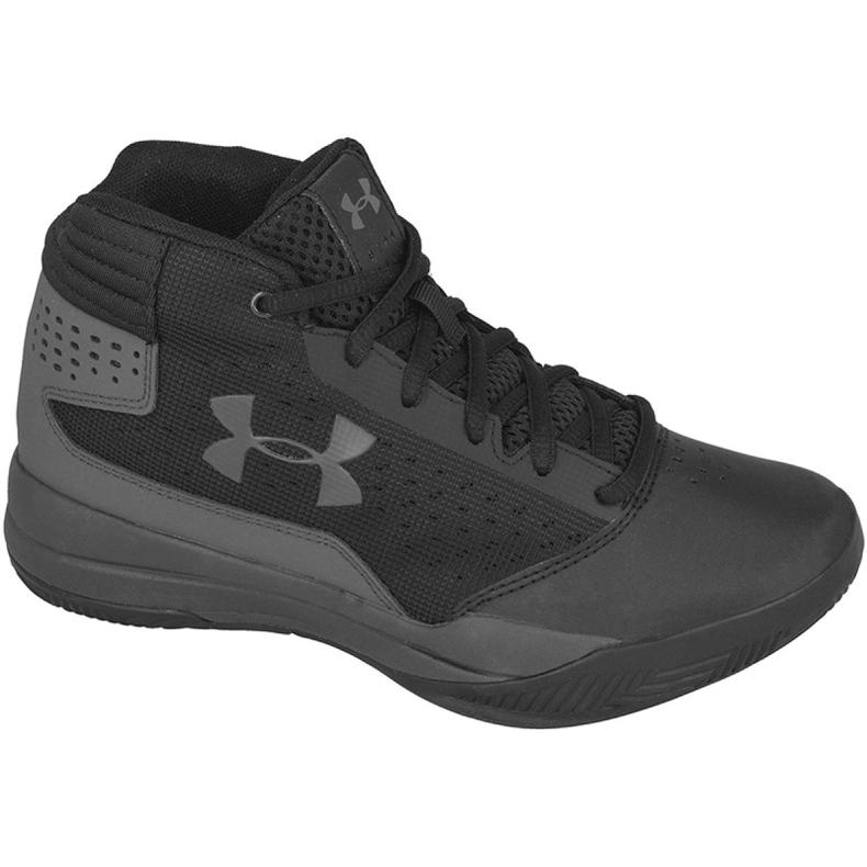 Zapatillas de baloncesto Under Armour Jet 2017 Jr 1296009-001 negro negro