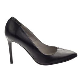 Edeo Pumps On High Heel 3180 negro