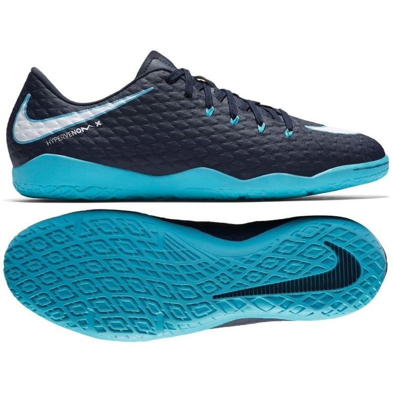 Zapatillas de interior Nike HypervenomX Phelon Iii Ic marina azul marino, azul