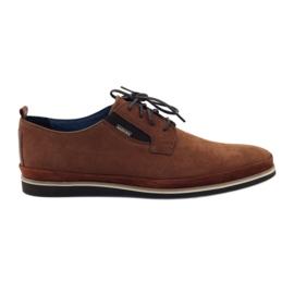 Zapatos de hombre Badura 7758 marrón.
