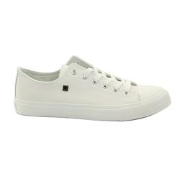 Blanco Zapatillas de deporte zapatillas para cordones Big star.