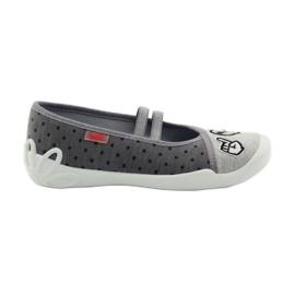 Gris Zapatillas befado para niños zapatillas bailarinas 116y235