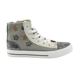 Big Star Zapatillas atadas en estrella grande 374068. gris