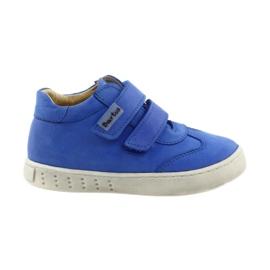 Azul Zapatillas de niño para velcro Bartuś.