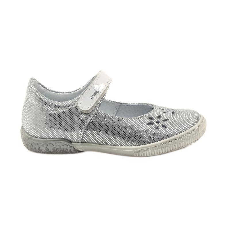 Zapatillas bailarinas de chicas de Ren But 3285 gris