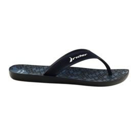 Zapatillas de hombre Rider 11073 azul marino.