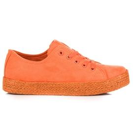 Kylie Zapatillas De Zapatillas Naranjas