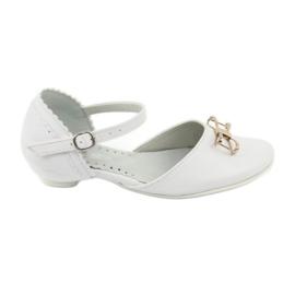 Blanco Zapatillas bailarinas de cortesia Miko 707 blancas.