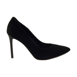 Edeo Pumps On High Heel 3162 negro