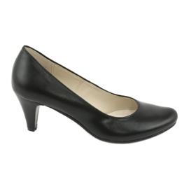 Gregors 465 zapatos de negocios negros.