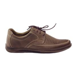 Marrón Zapatos de hombre Riko con zapatos perforados 848.