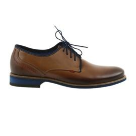 Zapatos de hombre marrón Nikopol 1653