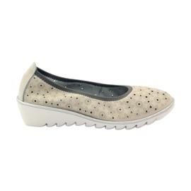 Zapatillas de piel con estampados Filippo 047. marrón
