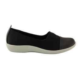 Negro Zapatillas muy cómodas Aloeloe slipons.