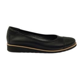 Zapatos mocasin de cuero Angello 1325 negro